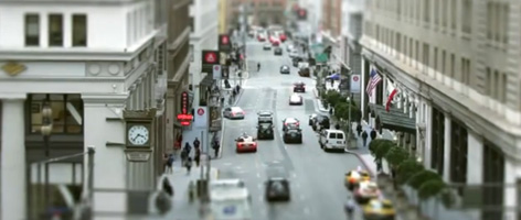 San Francisco en miniature